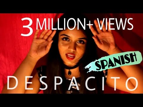 "DESPACITO - (Special Indian Cover ""Hindi/Spanish/English"" - Srushti Barlewar)"