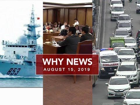 UNTV: Why News (August 15, 2019)