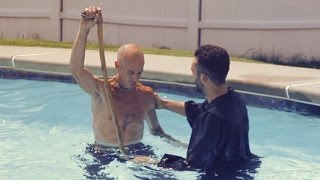 Touching BAPTISM video! Must watch!(This summer was so beautiful! It was filled with so much love! I had the privilege of baptizing 5 people in my pool. It was such an emotional and moving ..., 2015-10-05T21:45:55.000Z)