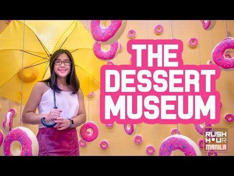 The Craziest Dessert Museum in Manila! (Philippines)