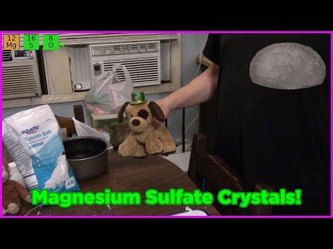 Crystals From Magnesium Sulfate! - Markers' Science