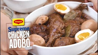 How to Cook Supreme Chicken Adobo with MAGGI