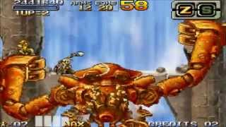 NDS Metal slug 7 Hard one coin all clear (no death = no die)
