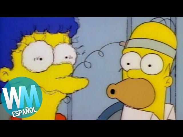 Top 10 Peores Cosas Que Homero Simpson Ha Hecho Youtube