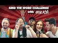 Download SING THE WORD CHALLENGE with STEVE AOKI