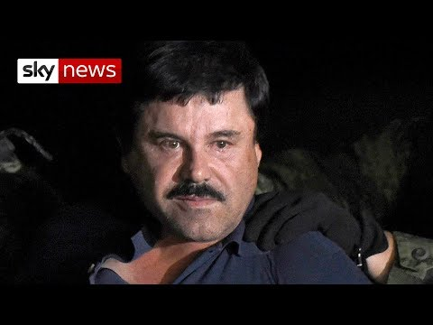 Drug lord El Chapo found guilty on all counts in US trial