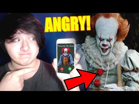 CALLING IT PENNYWISE THE CLOWN WORKED &  PENNYWISE ANSWERS!! GONE WRONG HE HATES ME!!