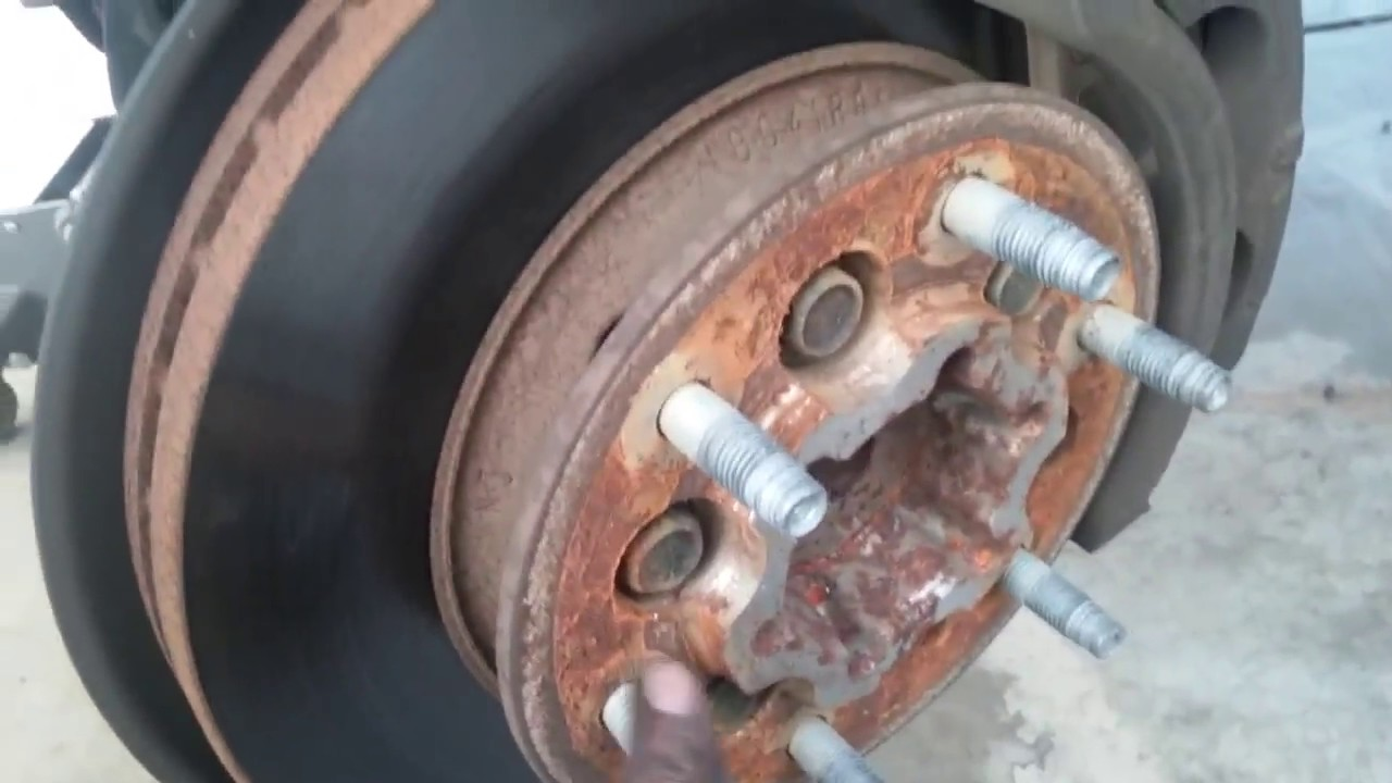 Colorado 2005 chevrolet colorado parts : 08 chevy colorado replaicing rotor and hub assembly - YouTube