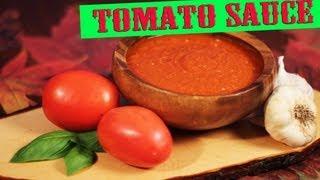 Easy Tomato Sauce Recipe | The Vegan Zombie
