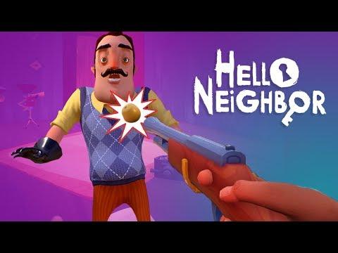 THE TOY GUN - Hello Neighbor Alpha 5