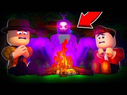 Roblox Camping NEW MONSTER! Roblox Camp fire Horror Game!