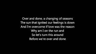 Amaranthe Over And Done Lyrics