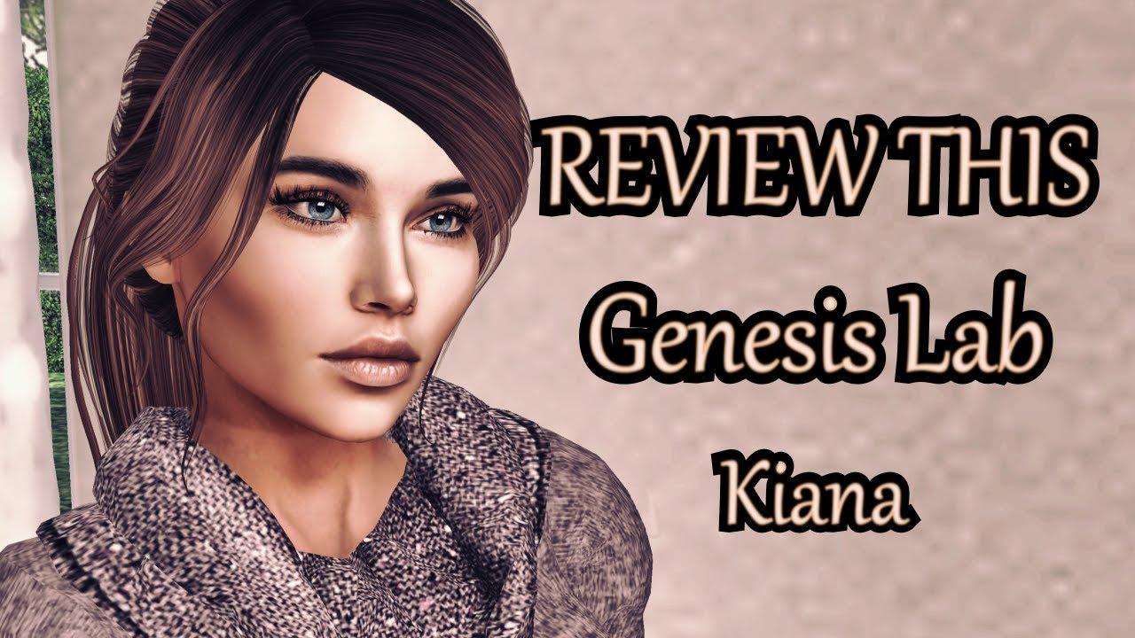 Second Life - REVIEW THIS - Genesis Lab Kiana Bento Head