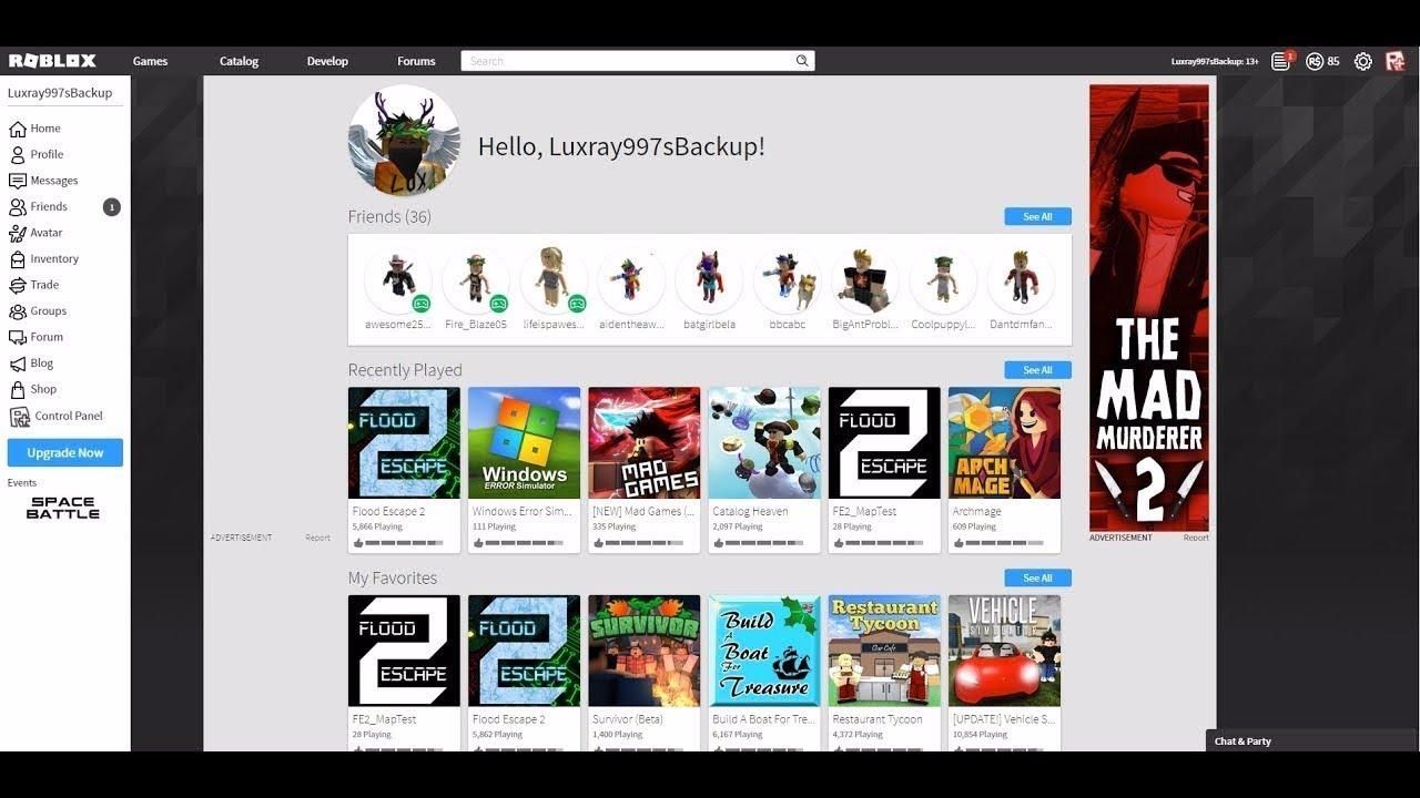 How To Get Dark Obc Theme On Roblox Windows Mac Youtube