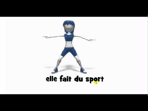 How to pronounce in french elle fait du sport youtube for Elle pronunciation