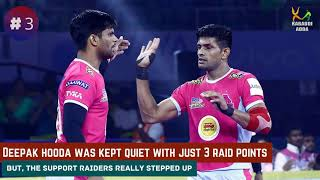 How Nilesh 6 Bonus point help Panthers clinched win against Thalaivas HIGHLIGHTS NEWS M52