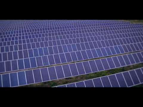 LES Solar Facility Video Aerial video