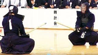 The 61th All Japan KENDO Championship (3rd Round) SHODAI Masahiro (...