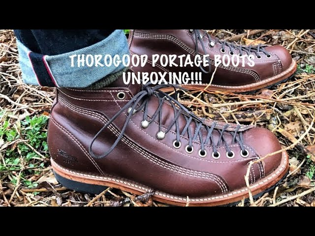 Thorogood Portage/Roofer/Monkey Boots