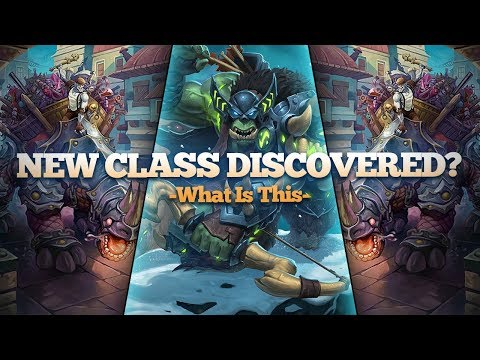 New Class Discovered?!?! Rexxar Makes an Appearance