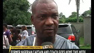 Stephen Keshi: Former Nigerian Captain and Coach goes home this week