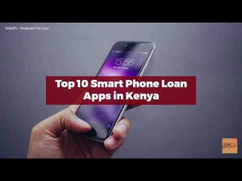 Top 10 Smart Phone Apps For Loan in Kenya