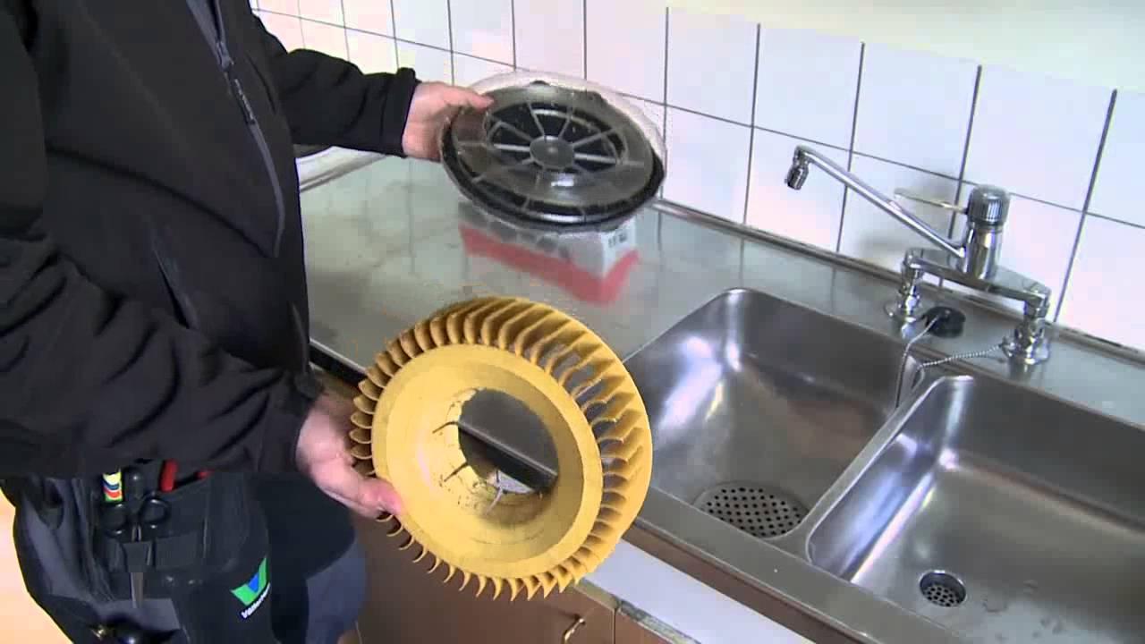 Kök köksfläkt installation : Ventilation - rengörning och byte kolfilter - YouTube