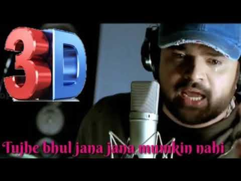 Tujhe Bhul Jana Jana Mumkin Nahi    Himesh Reshammiya    3D Song    hindi 3d punjabi songs