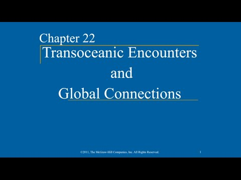 AP World History - Ch. 22 - Transoceanic Encounters and Global Connections