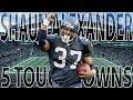 Shaun Alexander 5 Touchdowns in One Half! (Vikings vs. Seahawks, 2002)