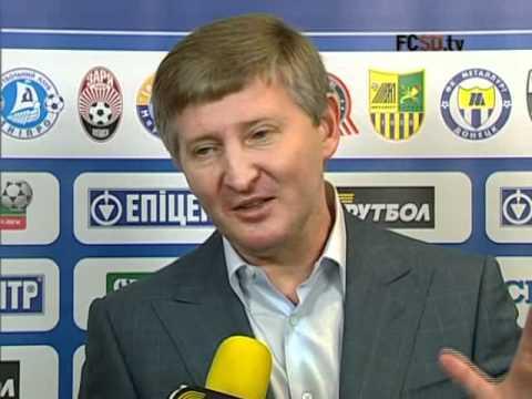 Rinat Akhmetov about the match FC Shakhtar - FC Metalist