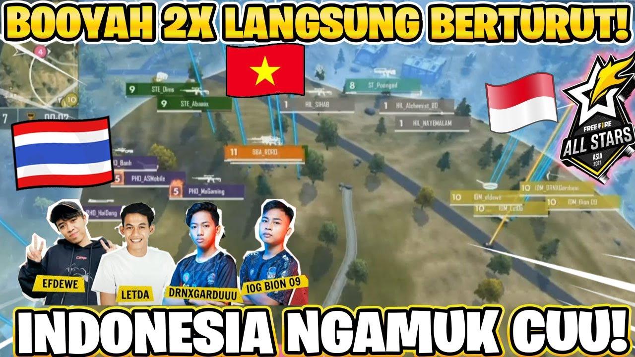 PEMBUKTIAN INDONESIA VS NEGARA LAIN! FREE FIRE ALL STARS!