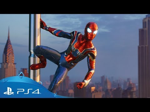 Marvel's Spider-Man | Iron Spider Suit Reveal | PS4 thumbnail