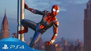 Marvel's Spider-Man | Iron Spider Suit Reveal | PS4