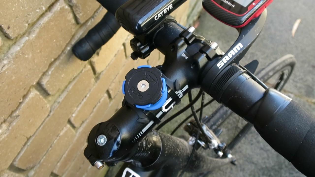 Quad Lock Bike Mount Review Youtube