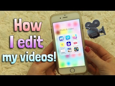 HOW I FILM AND EDIT MY VIDEOS!!