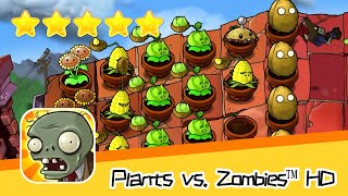 Plants vs  Zombies™ HD ROOF Level 03 Part 2 Walkthrough The zombies are coming! Recommend index five