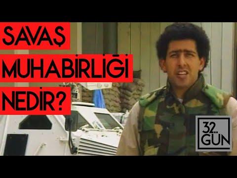 Savaş Muhabirliği Nedir? | Mithat Bereket Anlatıyor | 1993 | 32. Gün Arşivi