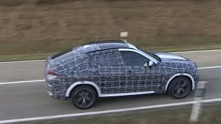 New BMW X6 spy video