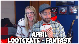 Loot Crate Opening April 2015 - FANTASY!! With Shady Lady!