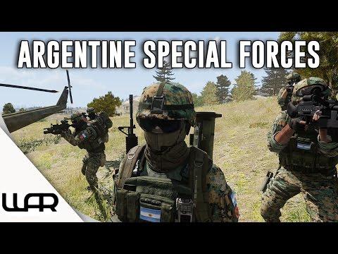 ARGENTINE SPECIAL FORCES - Second Falklands War - Alternate History - Arma 3 - Episode 13
