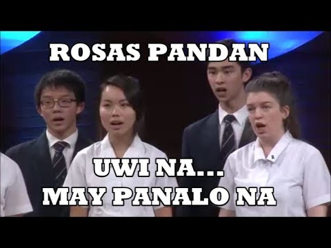 FILIPINO CLASSIC SONG (ROSAS PANDAN) - Winning Piece By Foreign Choir... Ginalingan Eh