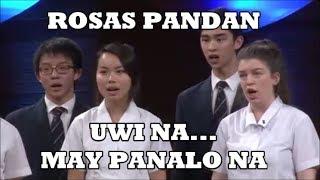FILIPINO CLASSIC SONG (ROSAS PANDAN) - Winning Piece By Foreign Choir... Ginalingan Eh