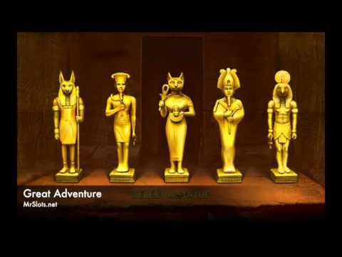 Great Adventure - Yet another exciting Egyptian adventure slot machine