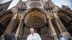 Henrik Schwarz live @ Cathédrale de Chartres in France for Cercle