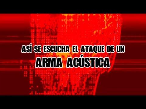 Así lo escucharon en la embajada de Cuba (ARMA ACÚSTICA)