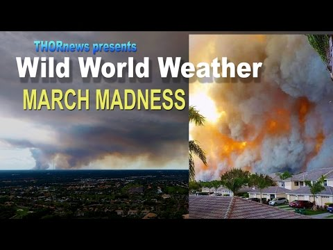 WILD WORLD WEATHER - March Madness! Tornados! Wind! Fire! Floods! Cyclones!