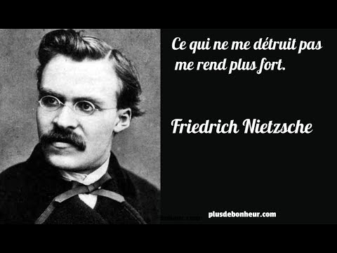 Citations Inspirantes De Friedrich Nietzsche Plus De Bonheur