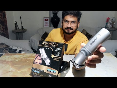 Dingling Hair Clipper RF 609 Review And Unboxing
