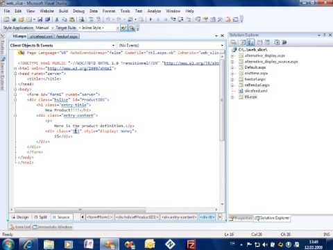 What is a IE8 Web Slice and how to make it Part 3 of 3